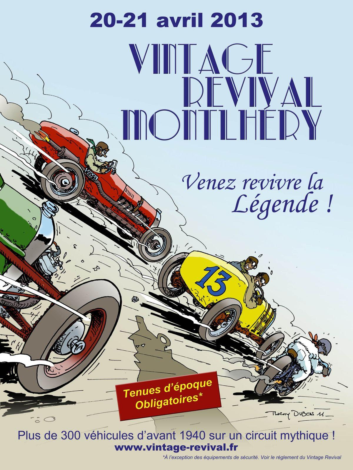 Vintage Revival à Montlhéry les 20 et 21 avril 2013