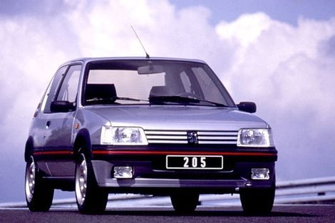 c 39 est ma voiture la peugeot 205 gti de florent passion autos prestiges anciennes. Black Bedroom Furniture Sets. Home Design Ideas