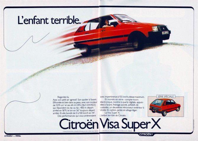 Gros plan: Citroën Visa