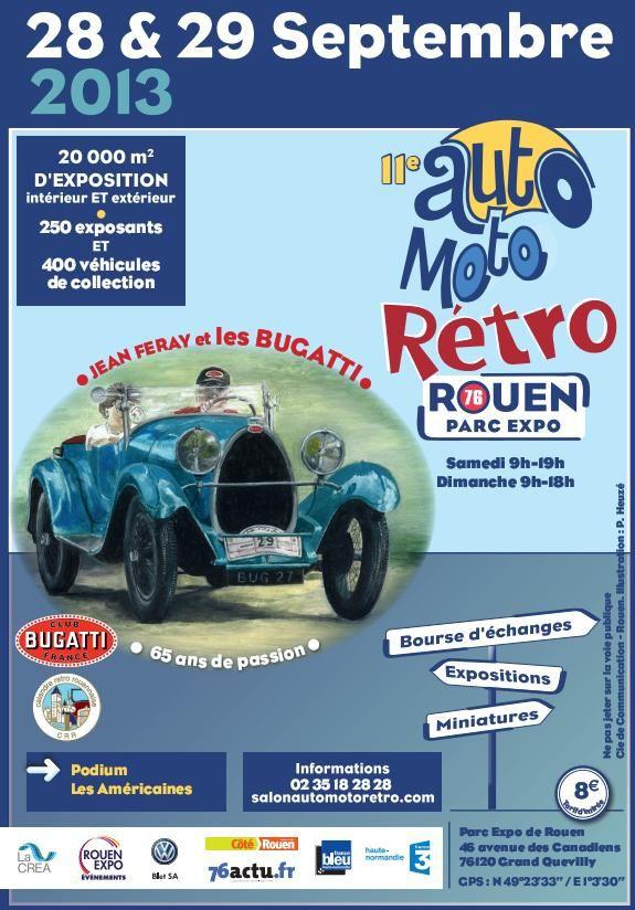 Auto Moto Rétro Rouen 2013