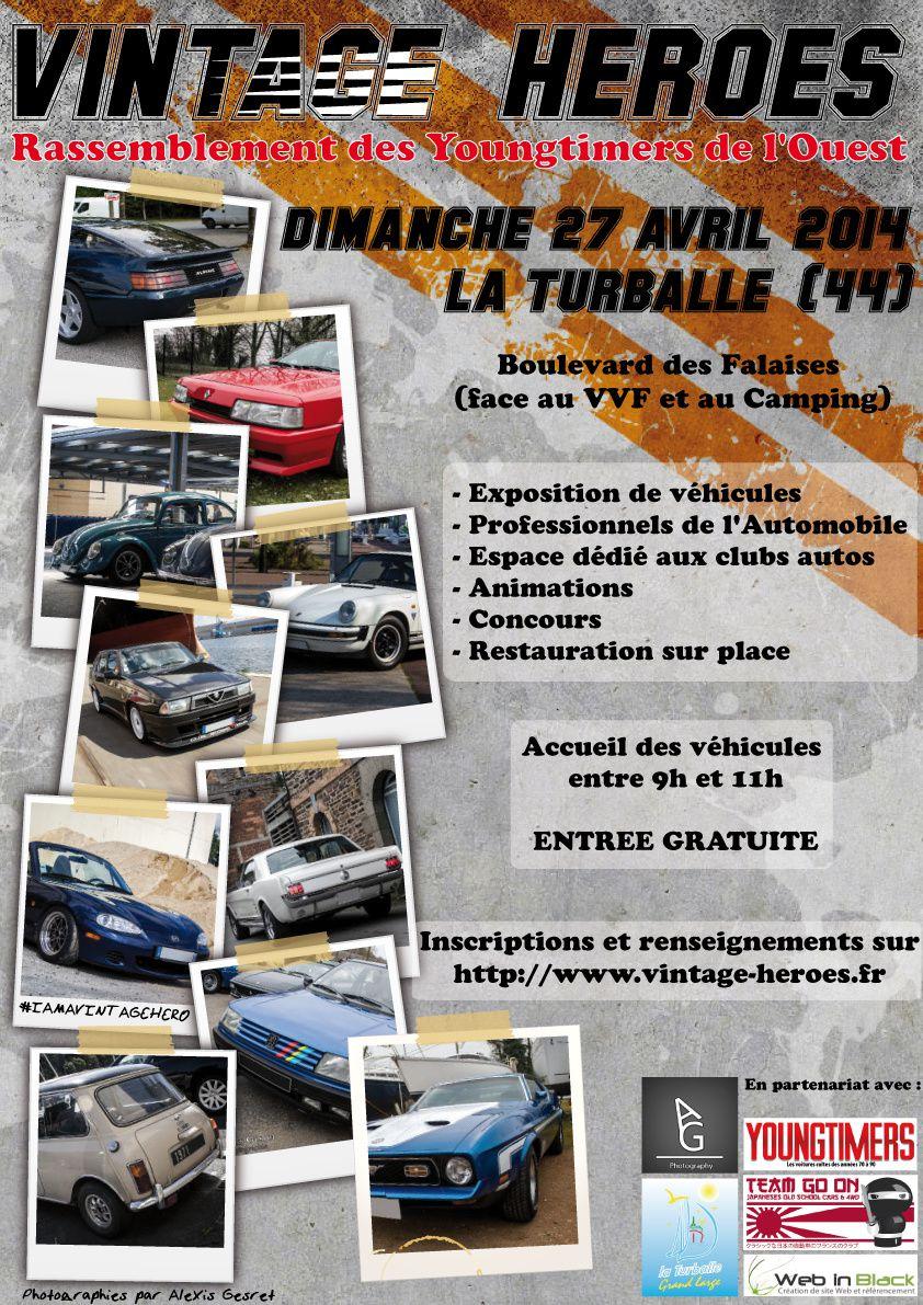 Vintage Heroes à La Turballe le 27 avril