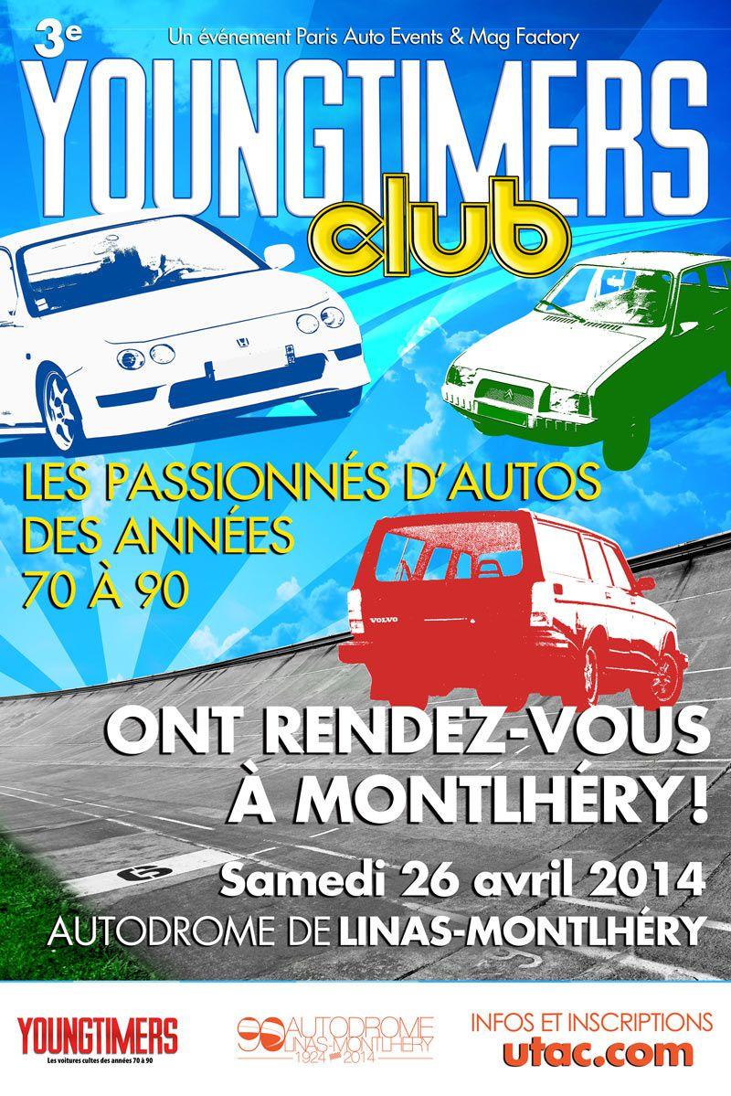 Youngtimers Club le 26 avril à Montlhéry