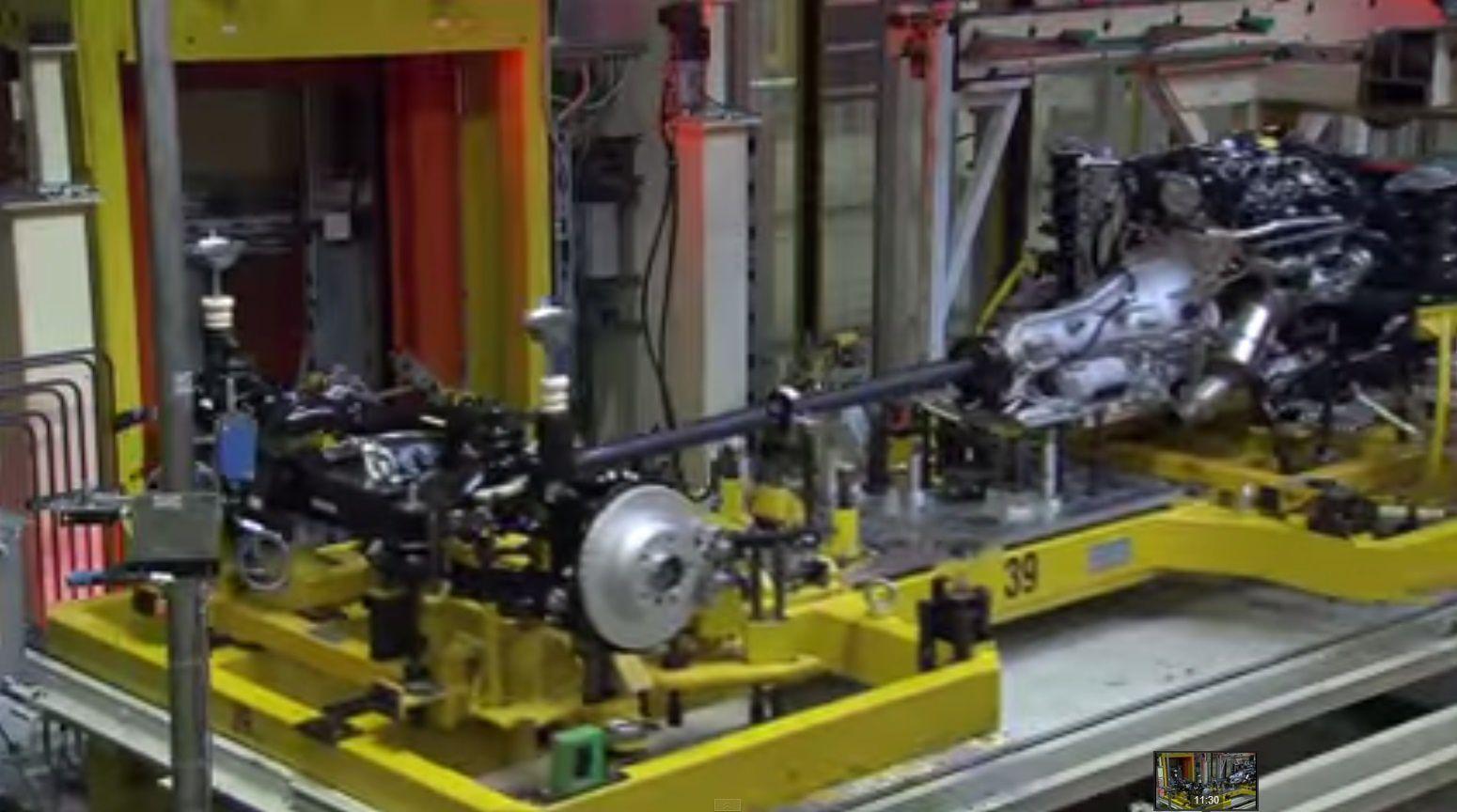 visite d'usine BMW