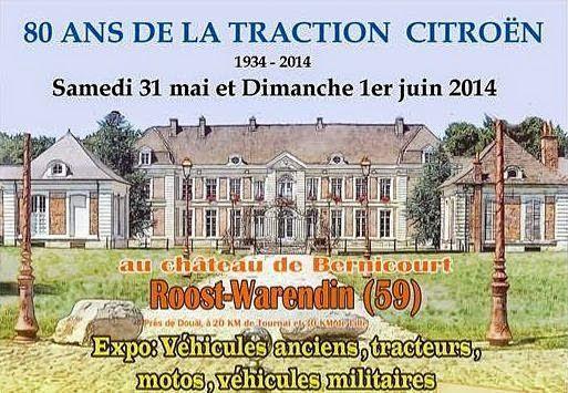 80 ans de la Traction à Roost Warandin: reportage