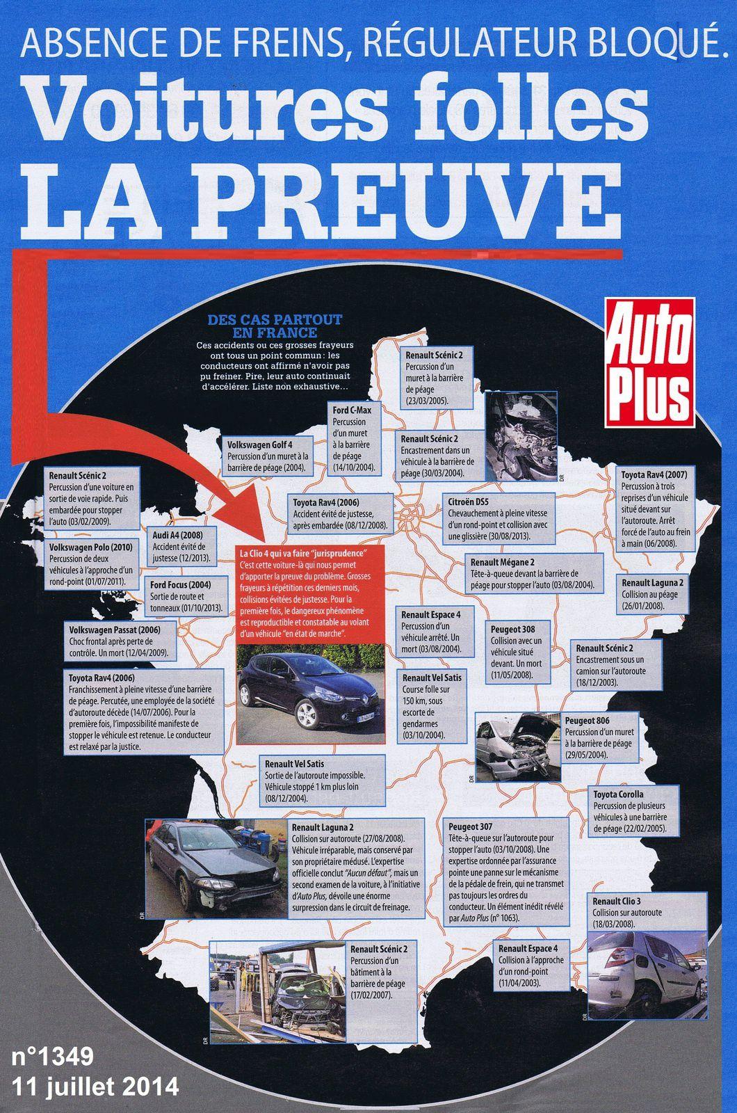 voitures folles: Auto Plus a enfin LA preuve