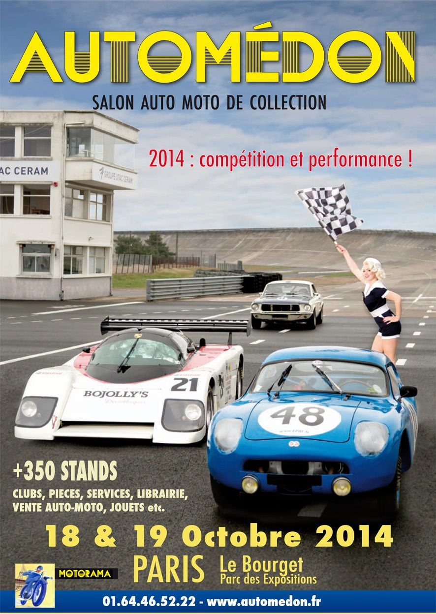 Salon AUTOMEDON 18-19 octobre au Bourget