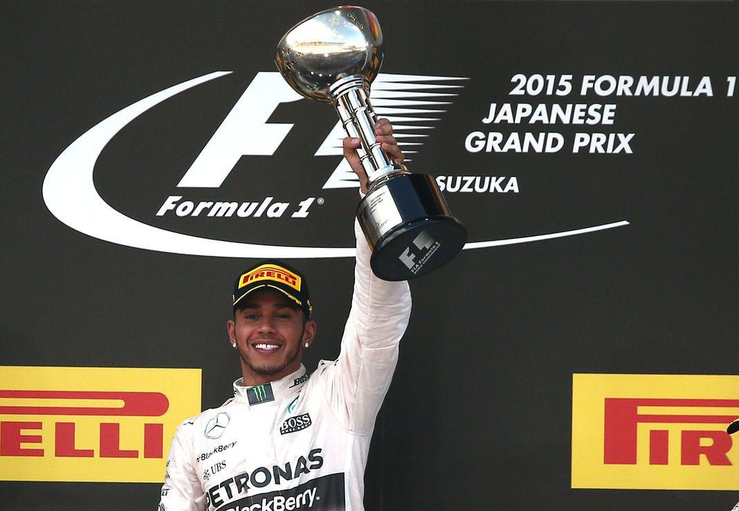 Lewis Hamilton a remporté le Grand Prix du Japon