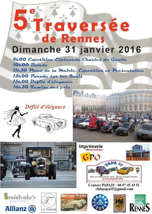 5è Traversée de Rennes le 31 janvier