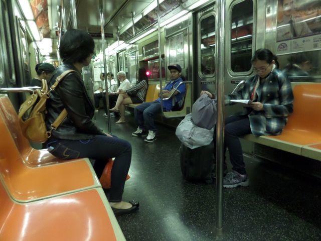 Subway à New York  (photo IletdeChriss)