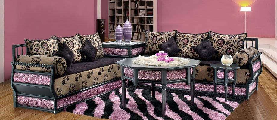 salon youssef mauve salon. Black Bedroom Furniture Sets. Home Design Ideas
