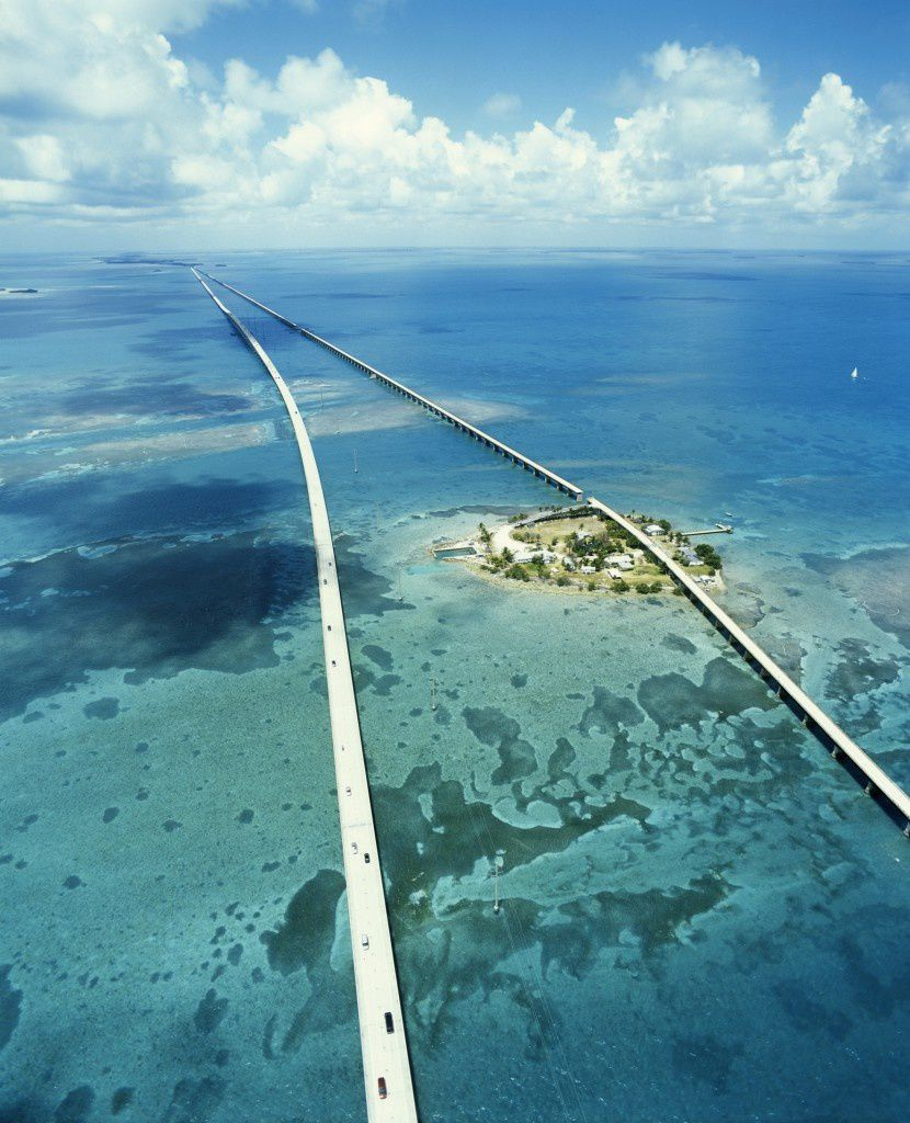 Seven Mile  Bridge, Keys, Floride