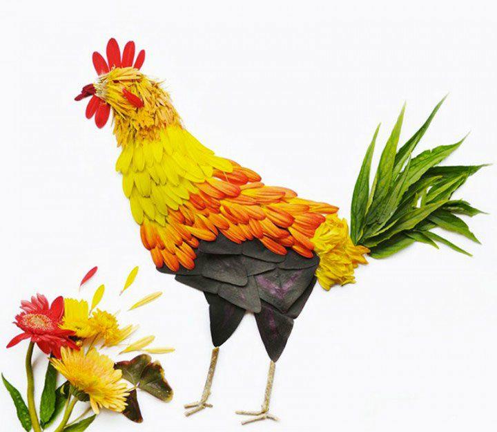 Quand la fleur se transforme... en oiseau