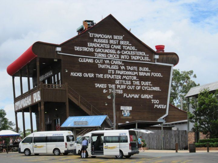 Ettamogah Pub, Meridian Plains on the Sunshine Coast Australia