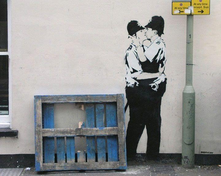 STREET ART 25 œuvres de Banksy