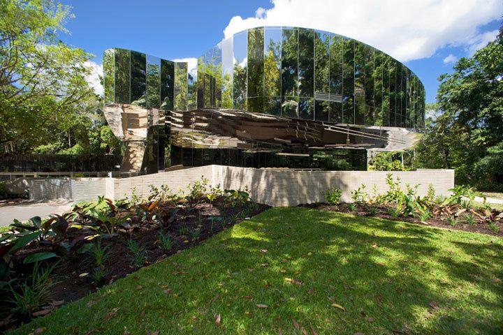 Les jardins botaniques de Cairns en Australie. Cabinet d'architectes Charles Wright Architects