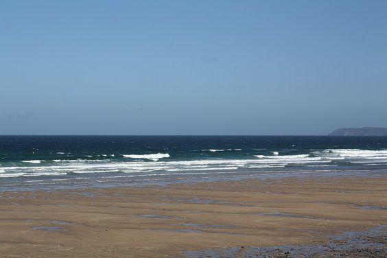Houle agitée en hausse vent on shore soutenu