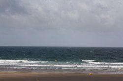 Houle courte et vent soutenu on-shore