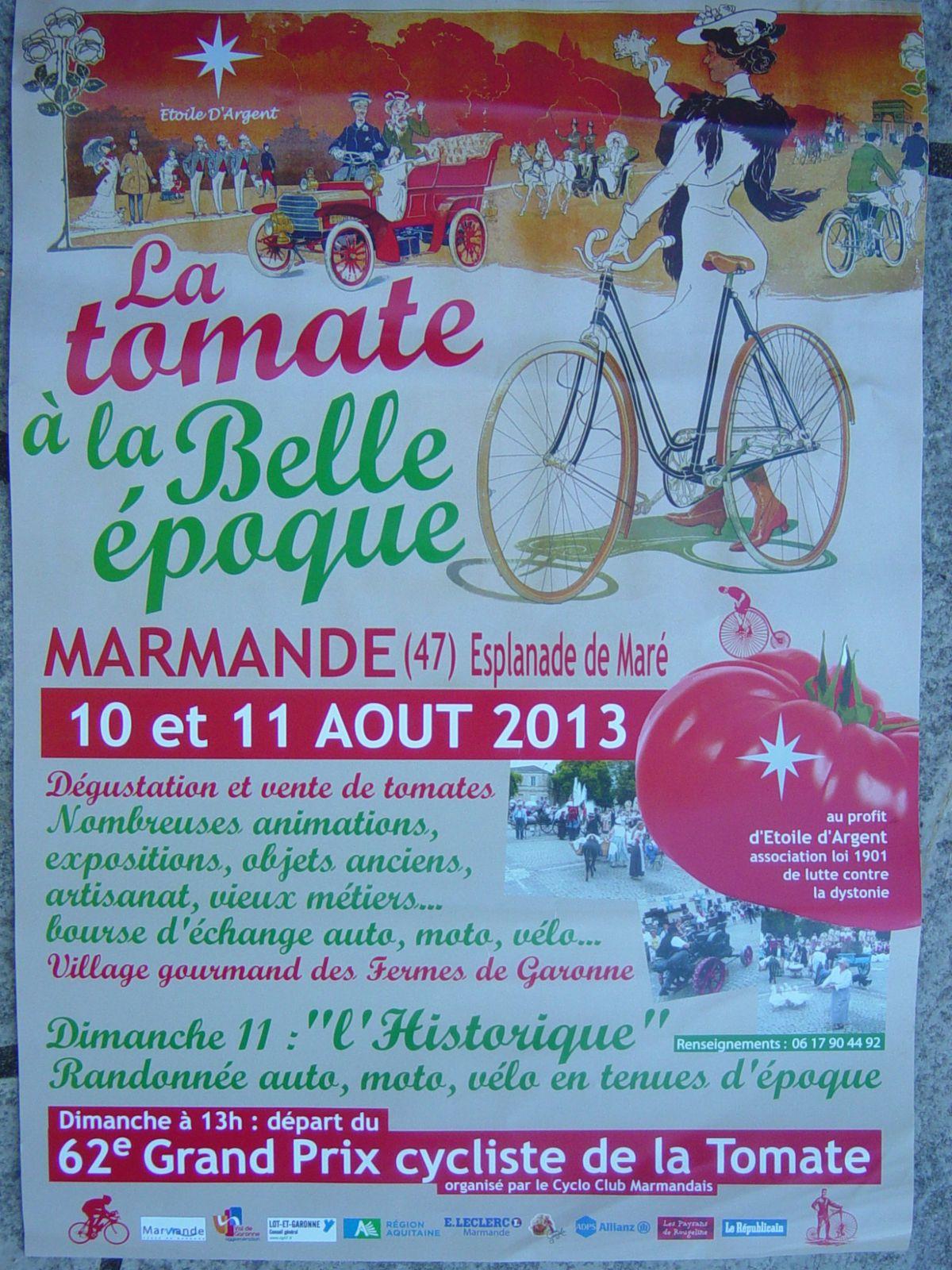 L' Historique à Marmande (47) &quot&#x3B;La Belle Epoque&quot&#x3B; 2013.