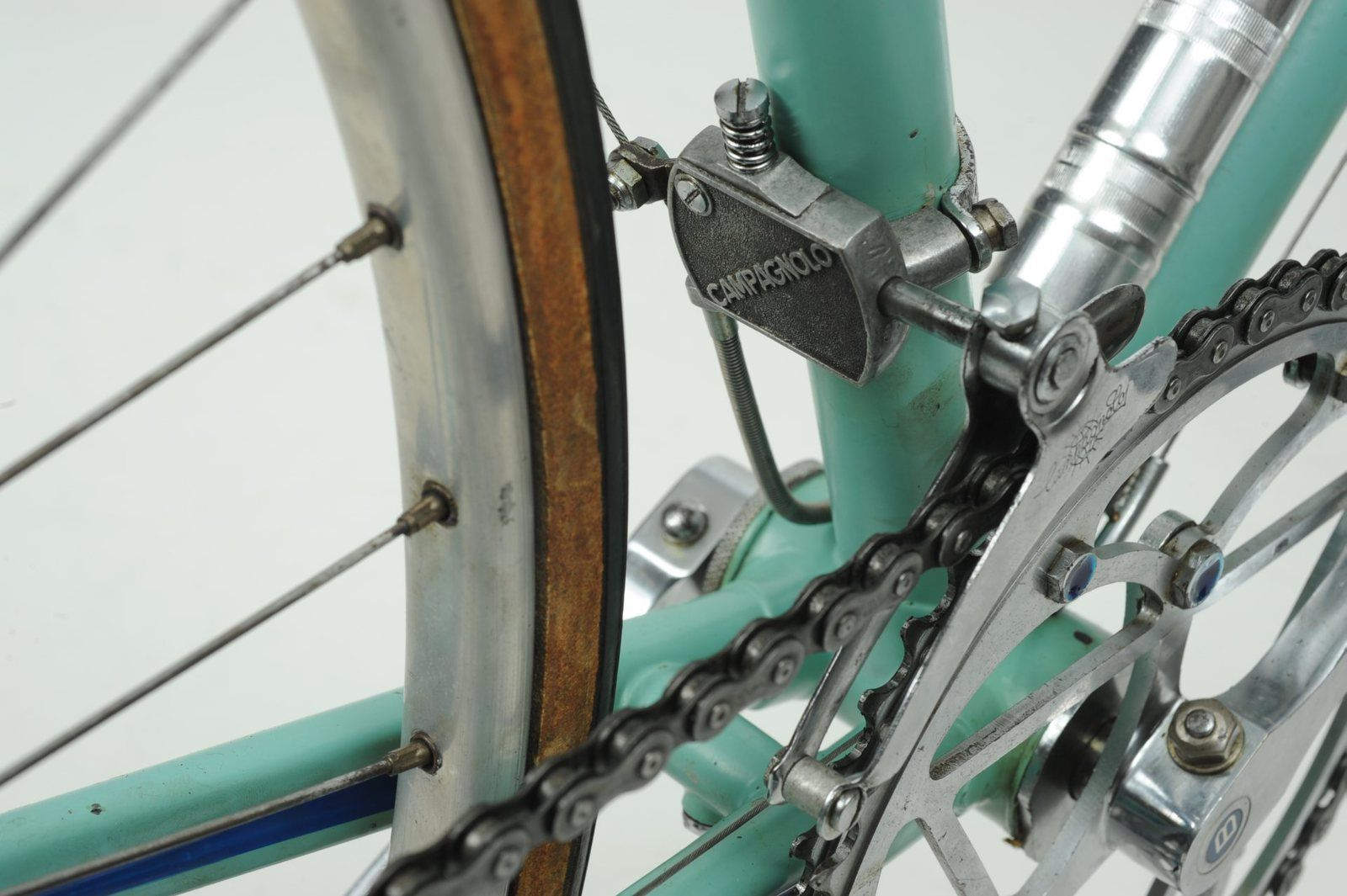Vélo BIANCHI - Pirelli 1953