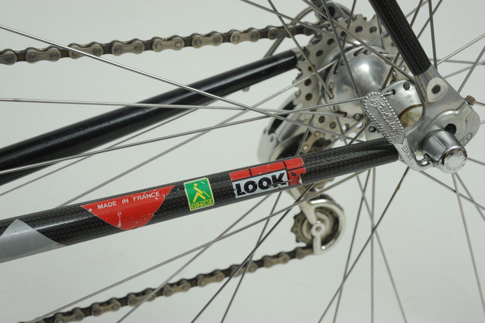 Vélo LOOK (TVT) - Toshiba - La Vie Claire 1987.
