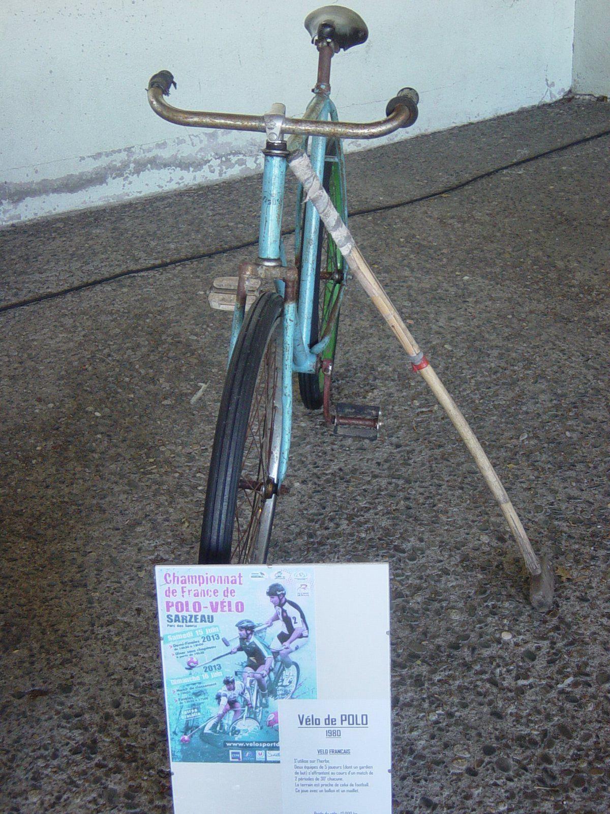 Vélo de polo sur herbe, 1980.