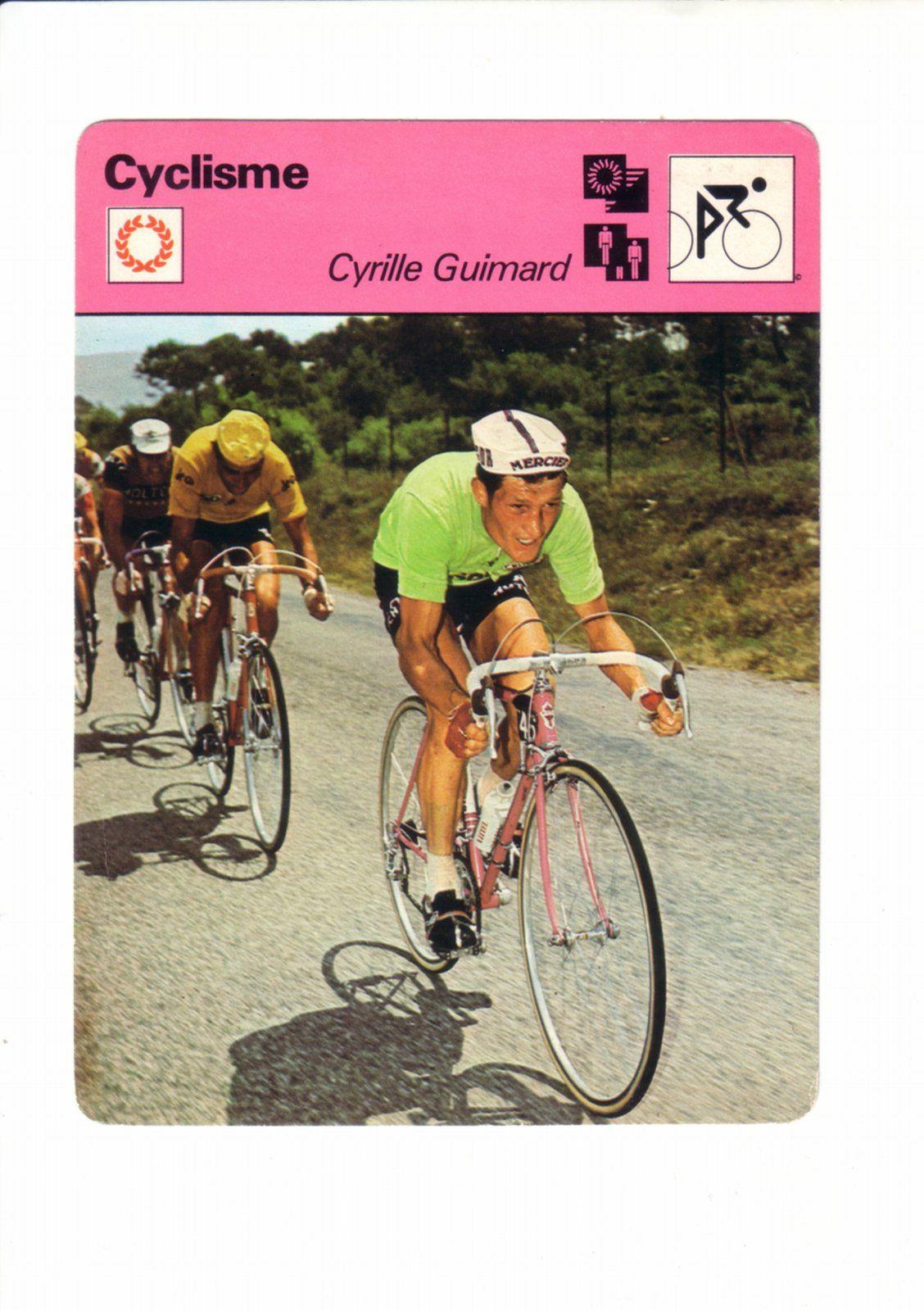Tour de France 1971 avec le maillot vert du classement par points du meilleur sprinter.