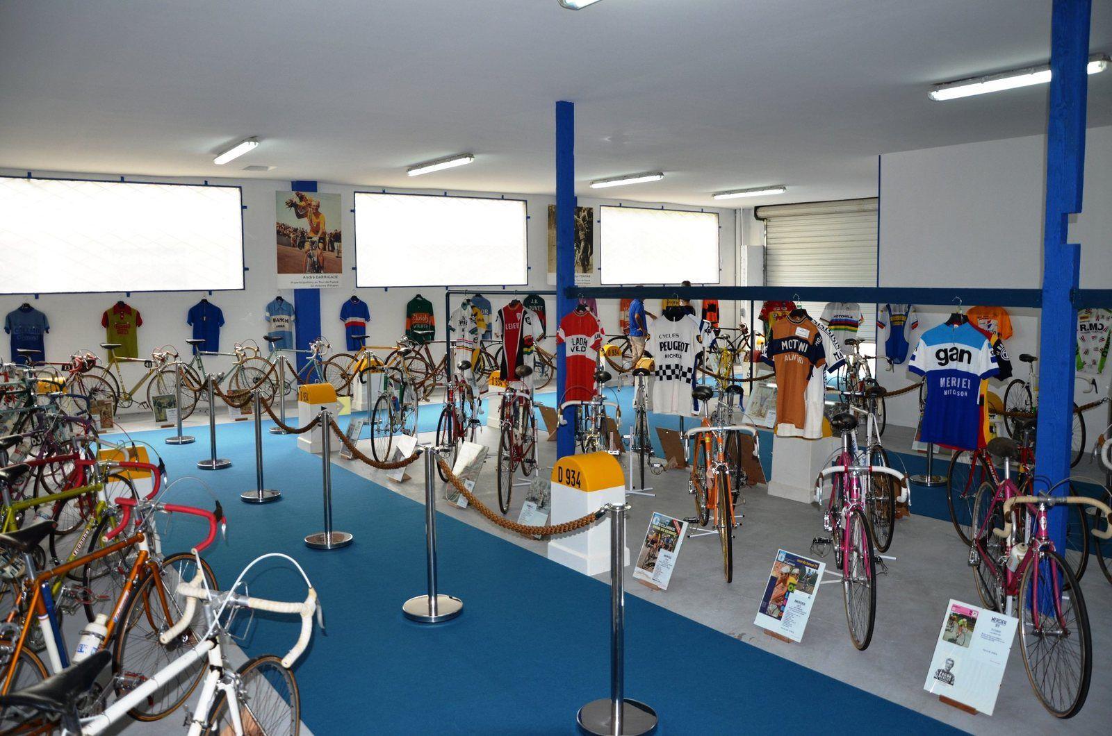 Ouverture du MUSEE, un Siècle de vélos Mythiques du Tour