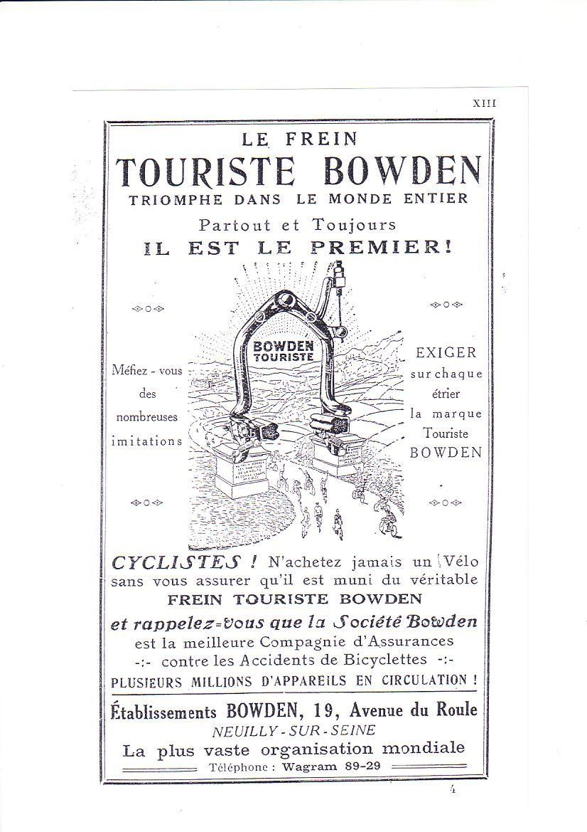 Vélo THOMANN-SOLY 1914