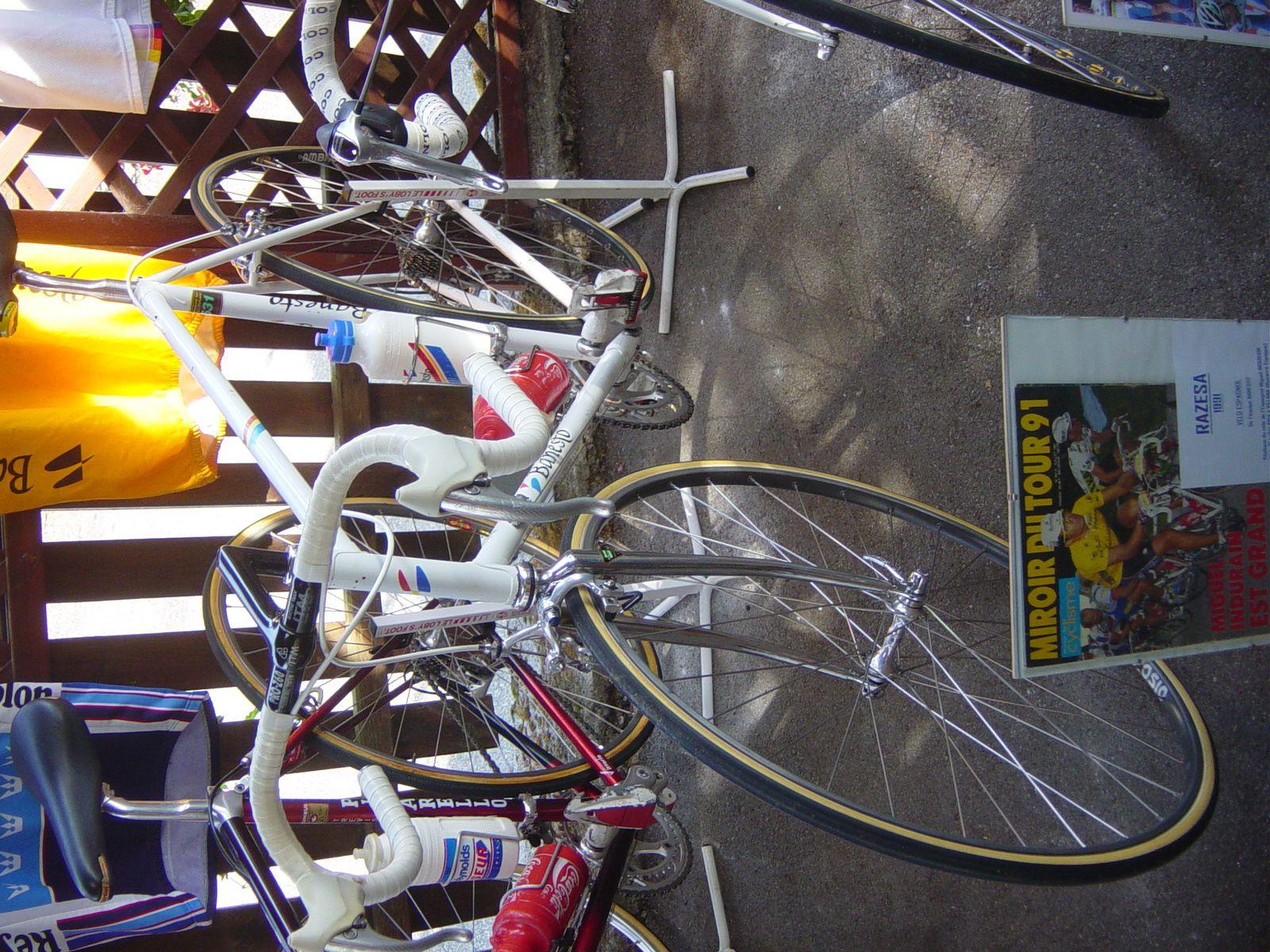 Le vélo Razesa-Banesto 1991 (réplique) de Miguel INDURAIN.