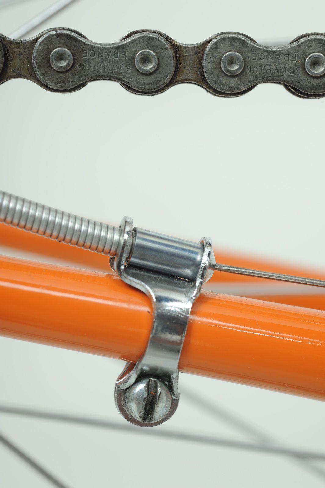 Dérailleur AR et sa roue-libre 6 vitesses Everest (dentures en aluminium).