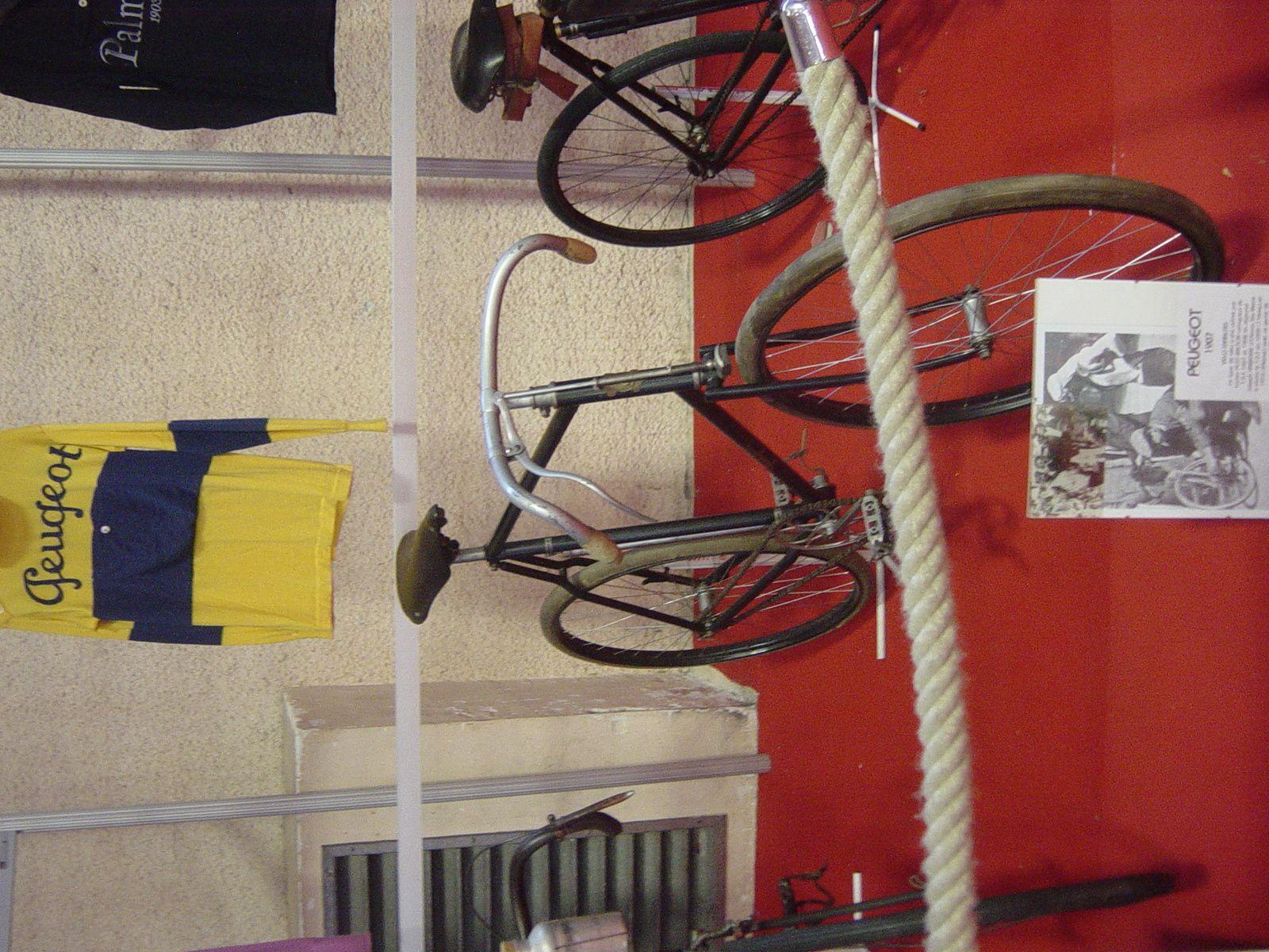 Vélo 1908 Peugeot (Petit-Breton).