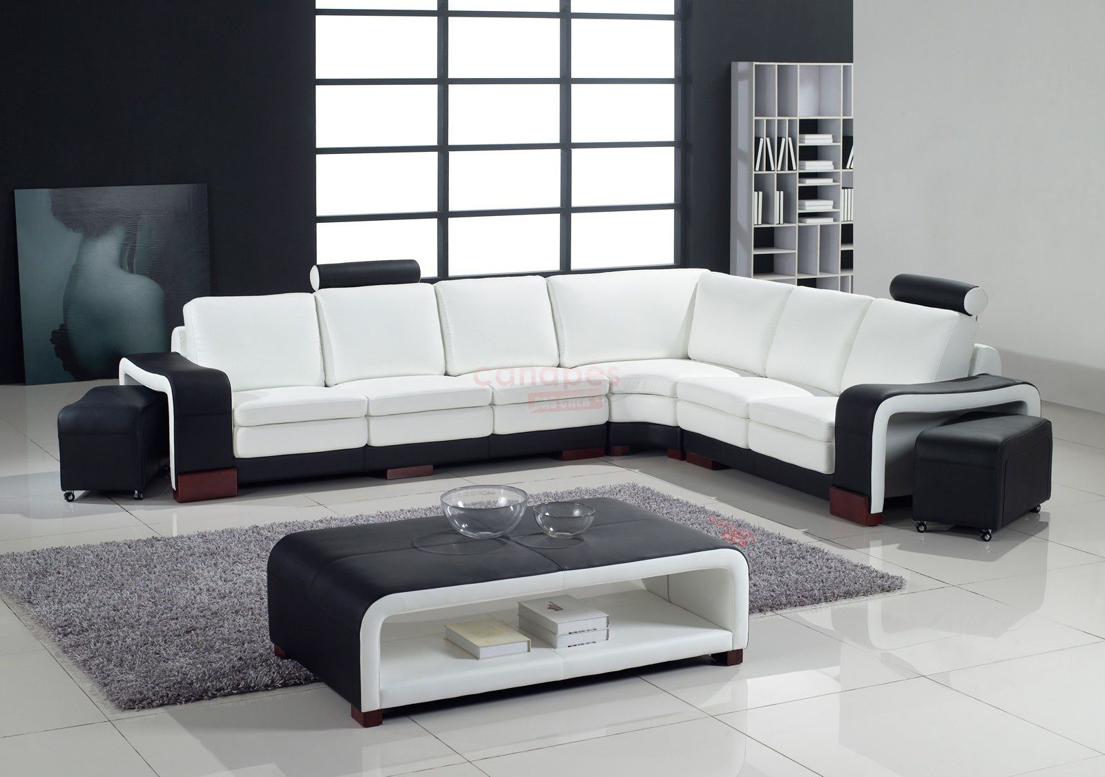 id es de design pour un salon d 39 angle. Black Bedroom Furniture Sets. Home Design Ideas