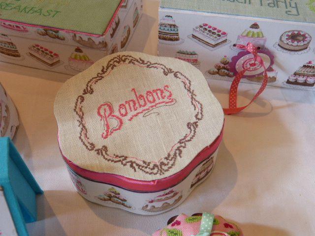 Pour les petits gourmands une boite toute en forme...