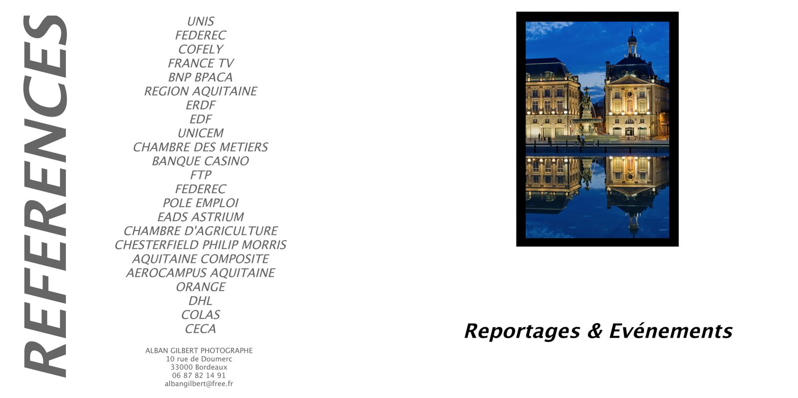 REPORTAGES-EVENEMENTS