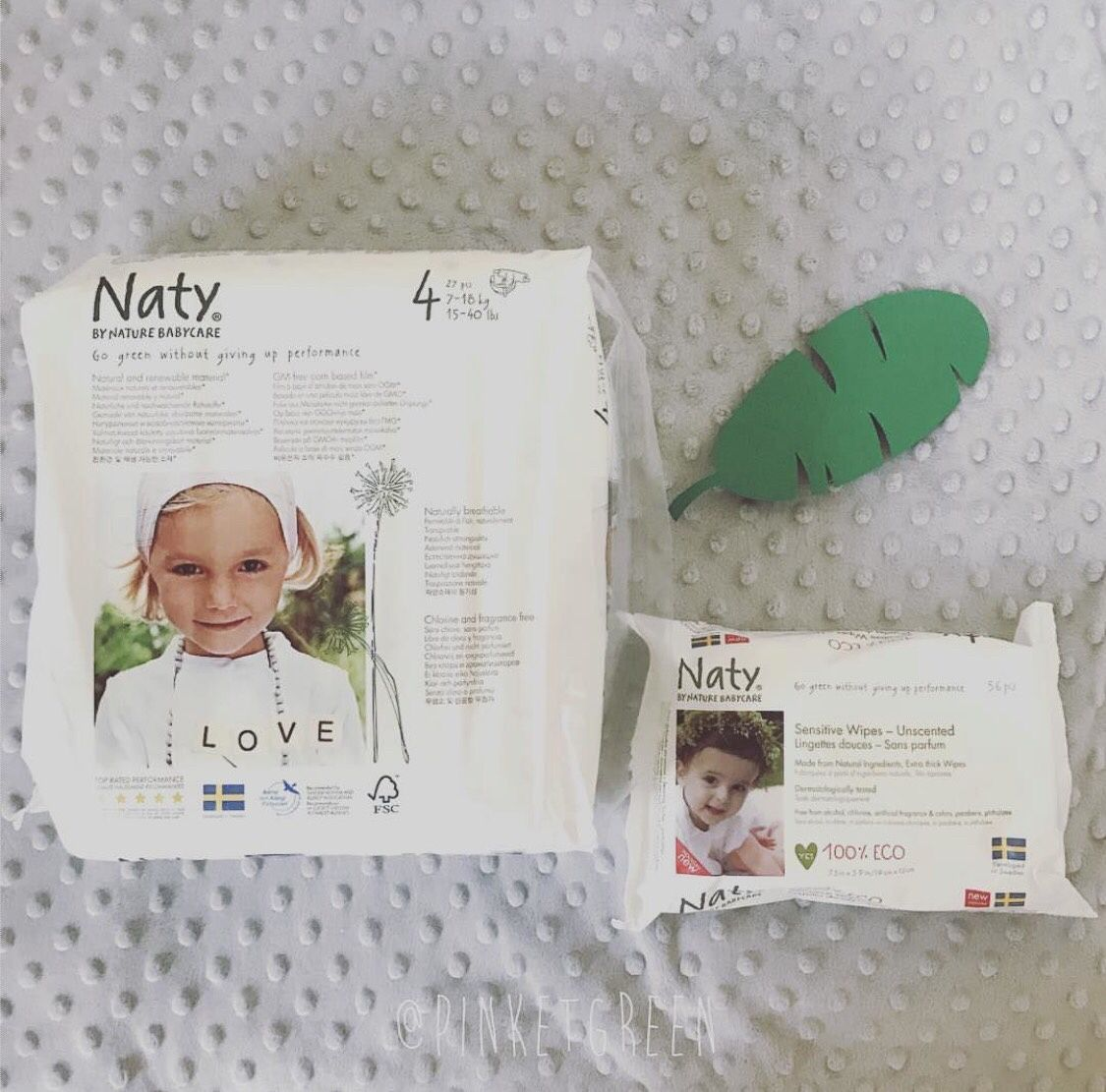 Test : couches et lingettes Naty
