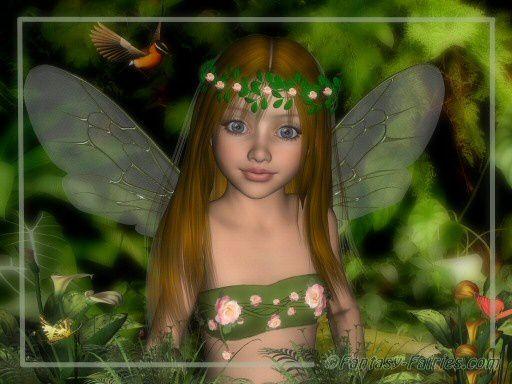 Fées, elfes et lutins en PNG