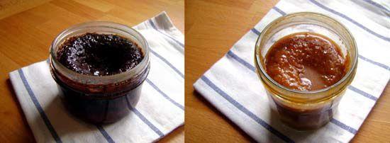 Petits Gâteaux « Bocaux » Sauce Caramel ou Chocolat