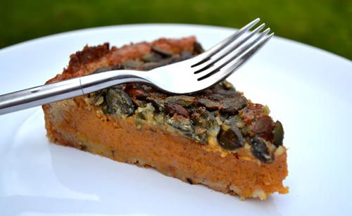 Thanksgiving Pumpkin Pie aux Graines de Courge