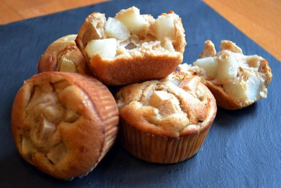 Muffins Poire Cannelle