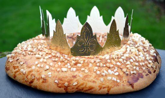 Gâteau des Rois au Sucre Perlé
