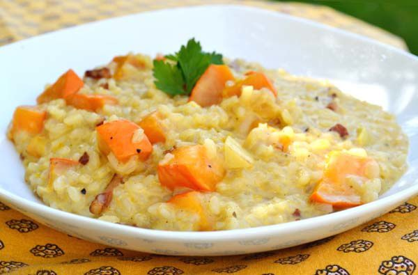 Risotto de Potimarron
