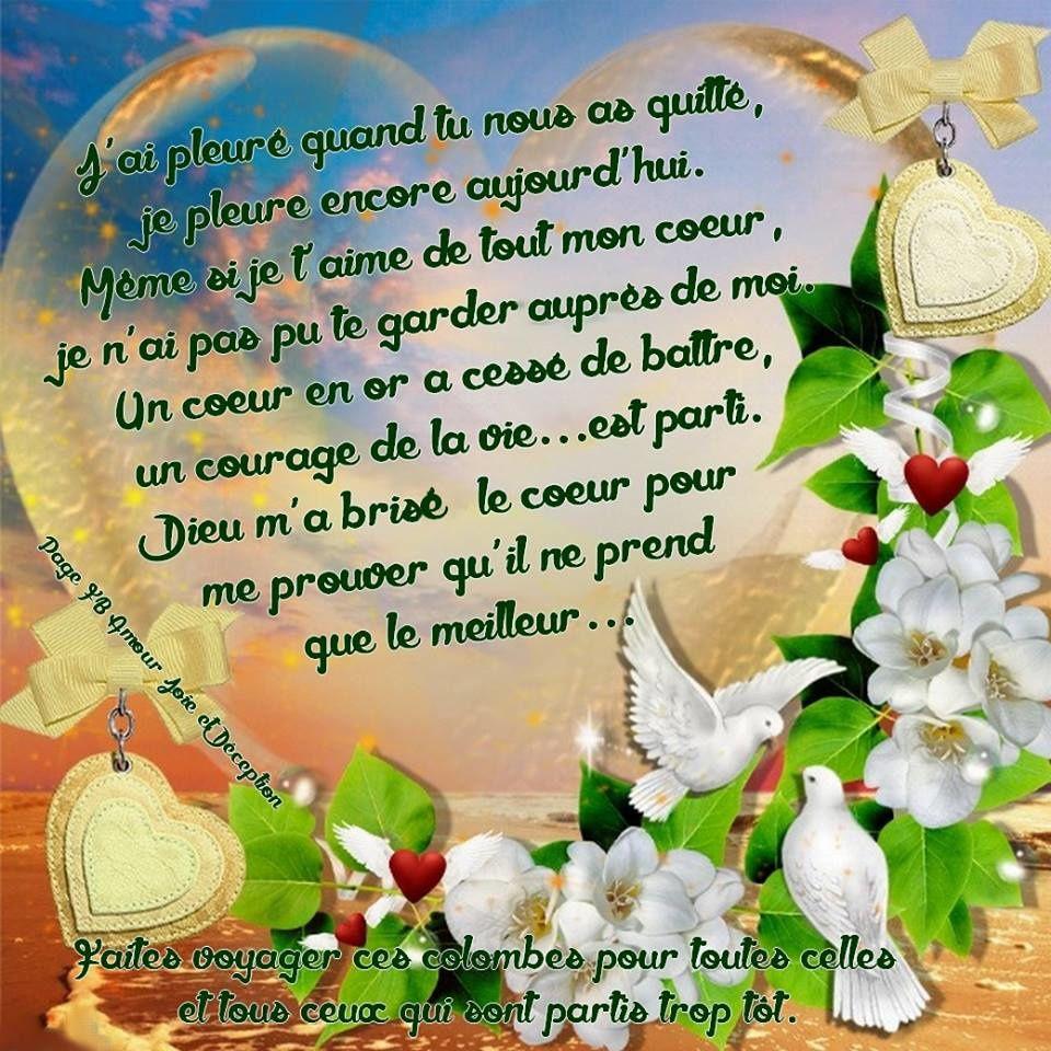 PERLES DE VIE DE MA FILLE D'AMOUR AU CIEL!!!