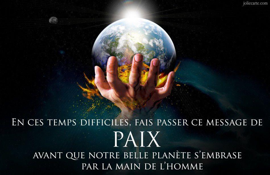 PRIERE AMERIDIENNE POUR LA PAIX!!!