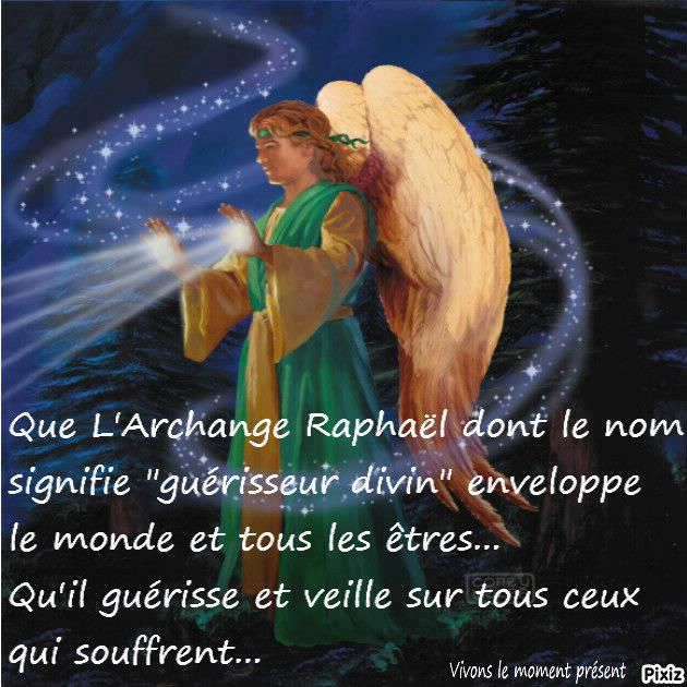 ORACLE DE L'ARCHANGE RAPHAEL!!!