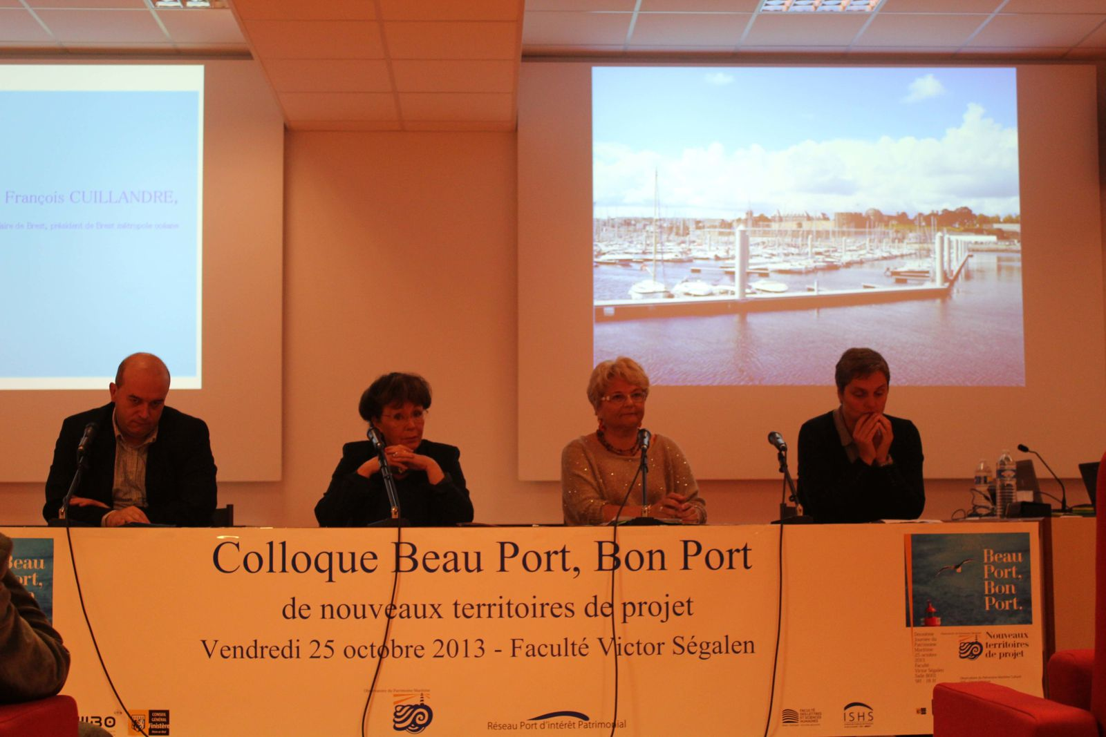 Colloque &quot&#x3B;Beau Port, Bon Port&quot&#x3B; 25 octobre 2013