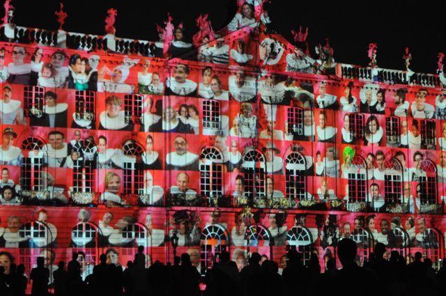 Nancy la Place Stanislas Illuminations 2013