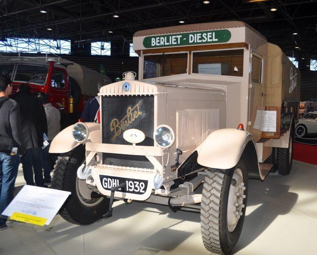 Epoqu'auto 2013-15- La Traversée du Sahara 3  Berliet GDHM de 1932