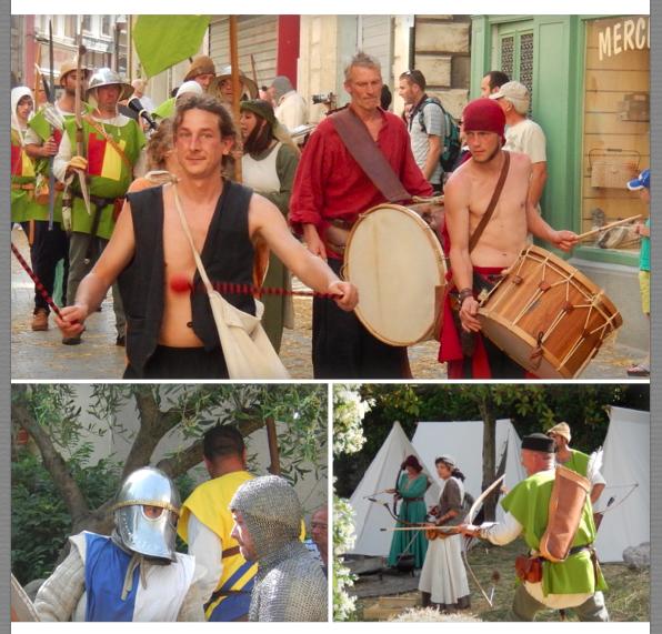 La grande Parade - Chevaliers et Archers