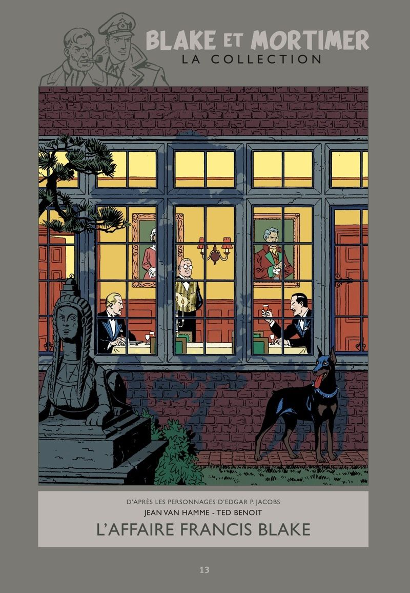 Blake et Mortimer, la collection Hachette : L'Affaire Francis Blake