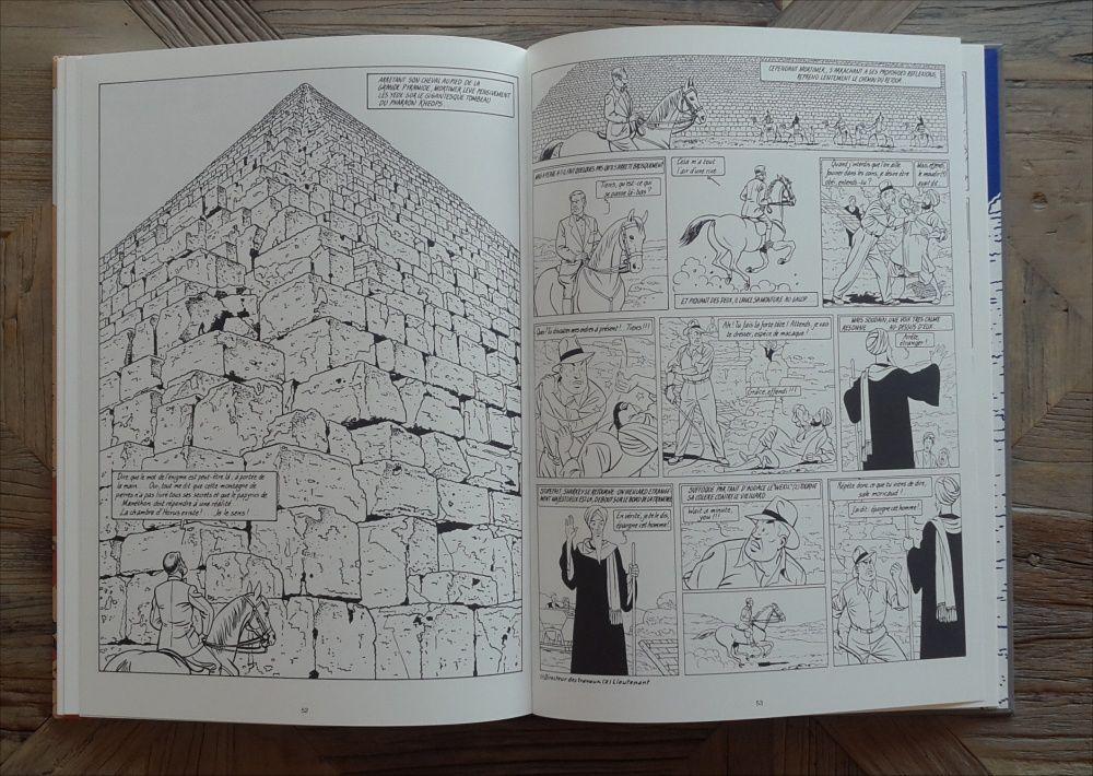 Le Mystère de la Grande Pyramide chez Golden Creek Studio